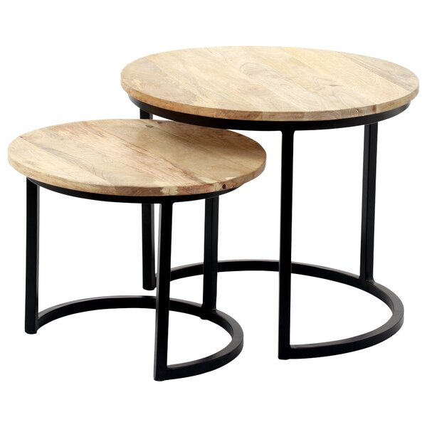 Yuvi Nesting Tables (Set of 2) by 17 Stories