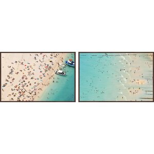 Beaches Diptych by Marmont Hill