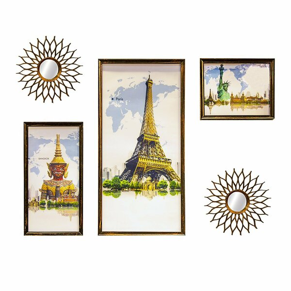 5 Piece Ressie Picture Frame Set by Ivy Bronx