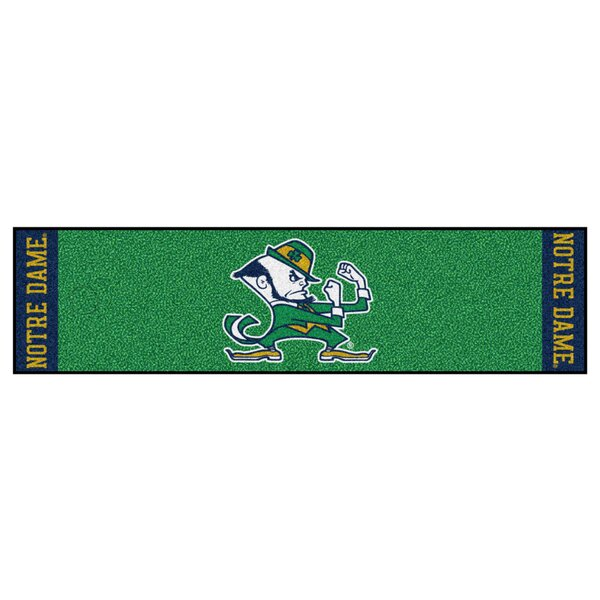NCAA Notre Dame Putting Green Doormat by FANMATS