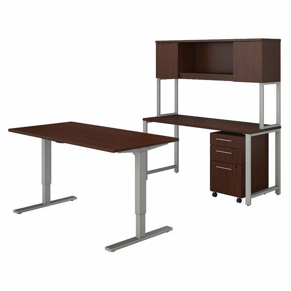 400 Series 4 Piece Desk Office Suite by Bush Business Furniture