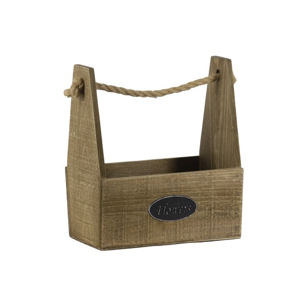 Tufnell Rectangular Wood Planter Box by Gracie Oaks