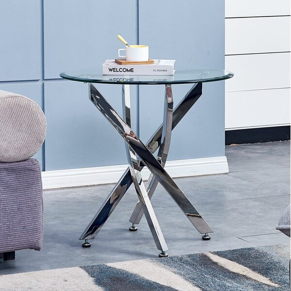 Landgraf End Table by Ebern Designs