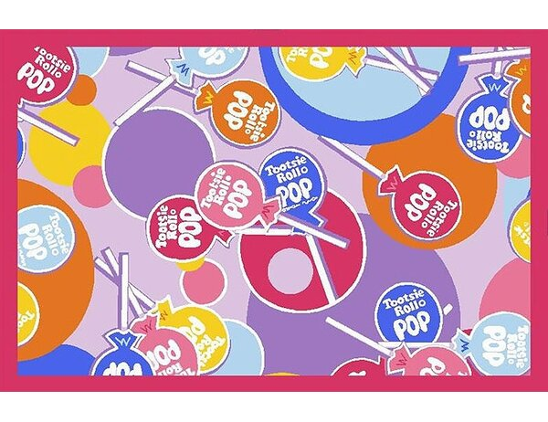Tootsie Roll Pop Area Rug by Fun Rugs