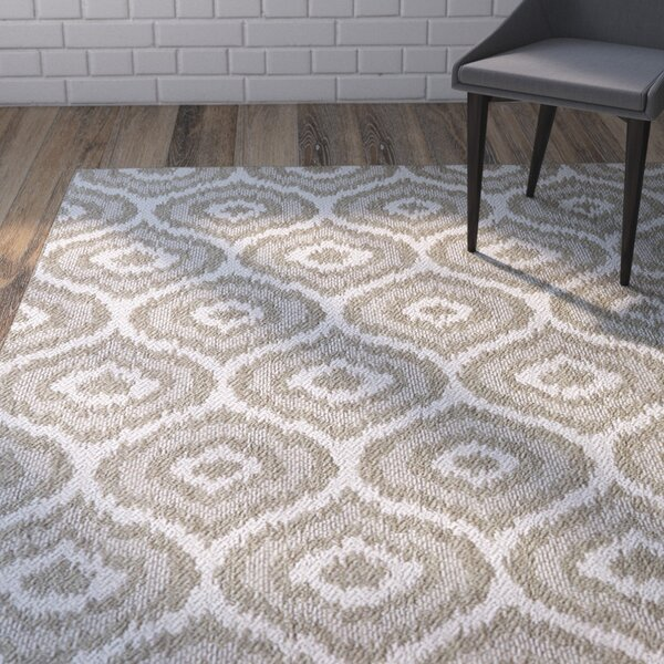 Aker Silver Area Rug by Mercury Row