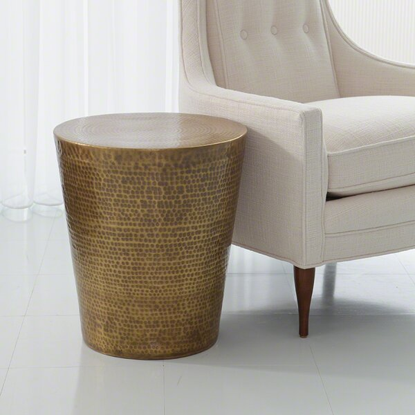Izmir Hammered End Table by Studio A Home Studio A Home