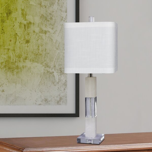 Aviza Stacked Block 26 Table Lamp (Set of 2) by Orren Ellis