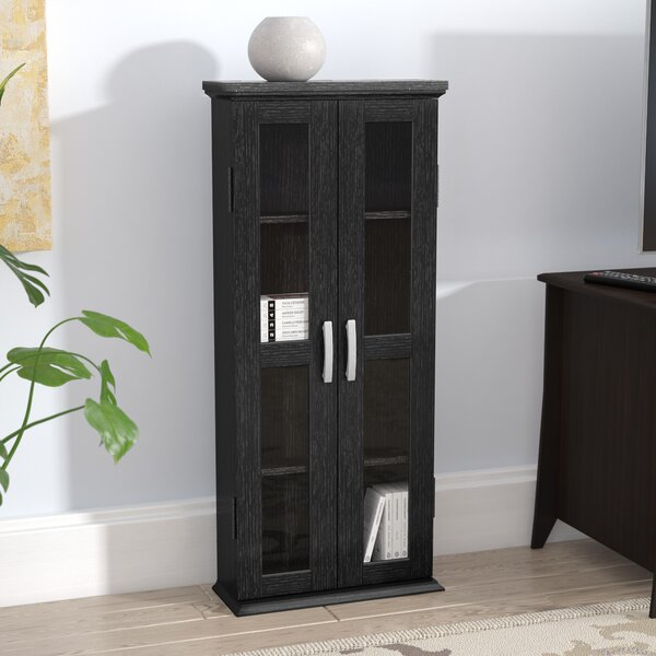 Wood DVD Multimedia Cabinet by Three Posts