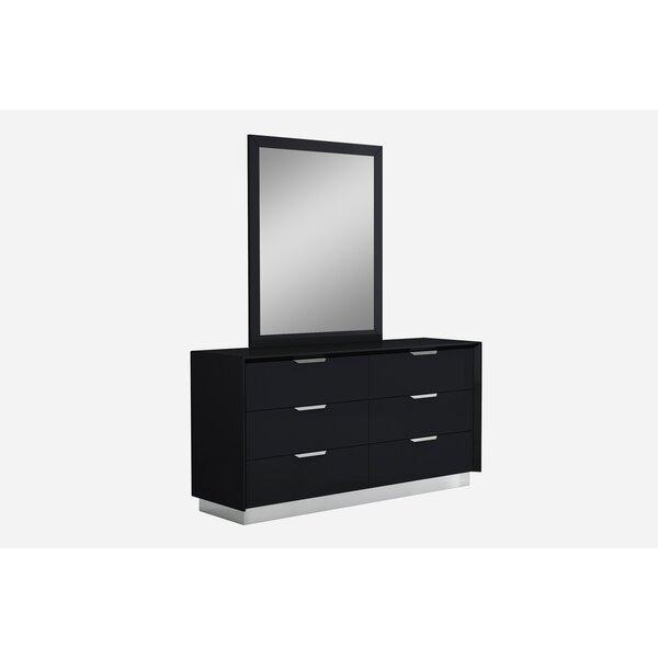 Aspinwall 6 Drawer Double Dresser by Orren Ellis