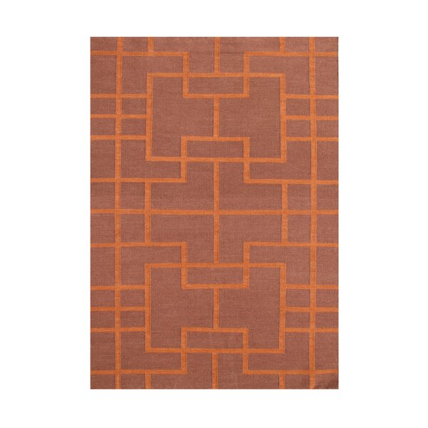Andris  Hand-Tufted Red Area Rug by Wildon Home ®