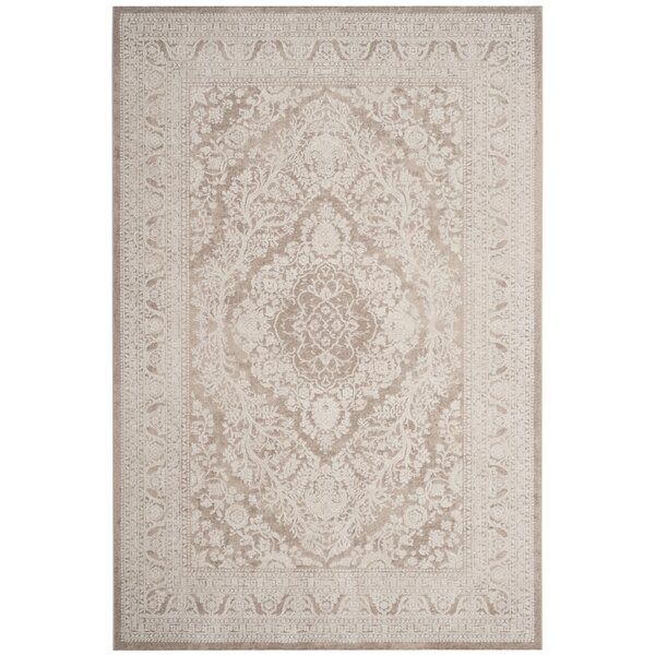 Pellot Beige/Cream Area Rug by Lark Manor