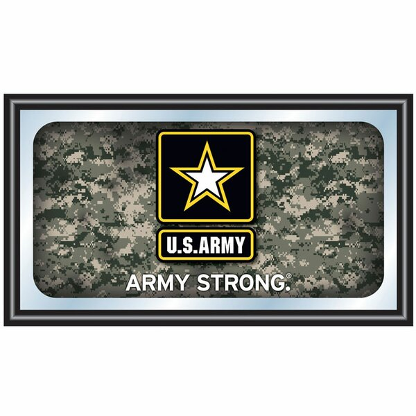 U.S Army Digital Camo Framed Graphic Art by Trademark Global