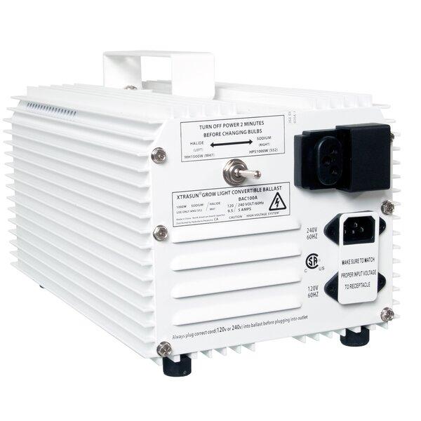 Xtrasun 1000W 120/240V HPS/MH Convertible Ballast by Hydrofarm