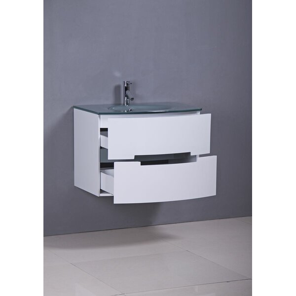 Sandstrom 30 Wall-Mounted Single Bathroom Vanity Set by Orren Ellis
