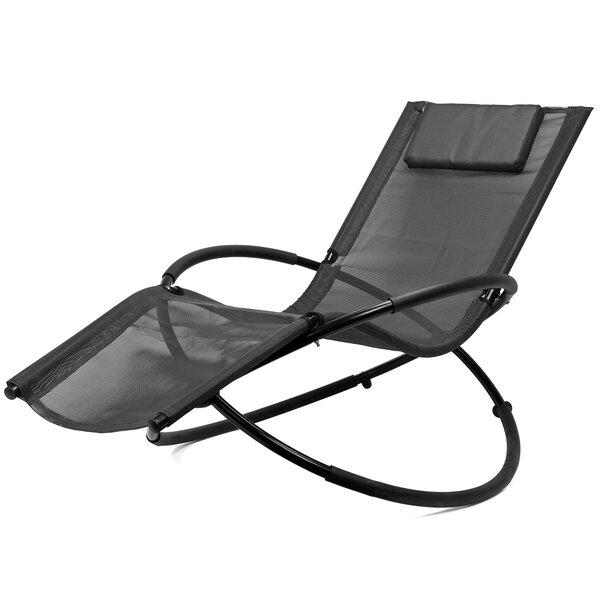 Chatfield Orbit Folding Zero Gravity Chair with Cushion by Freeport Park Freeport Park
