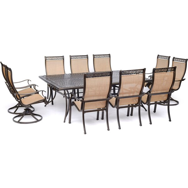 Buariki 11 Piece Dining Set by Fleur De Lis Living