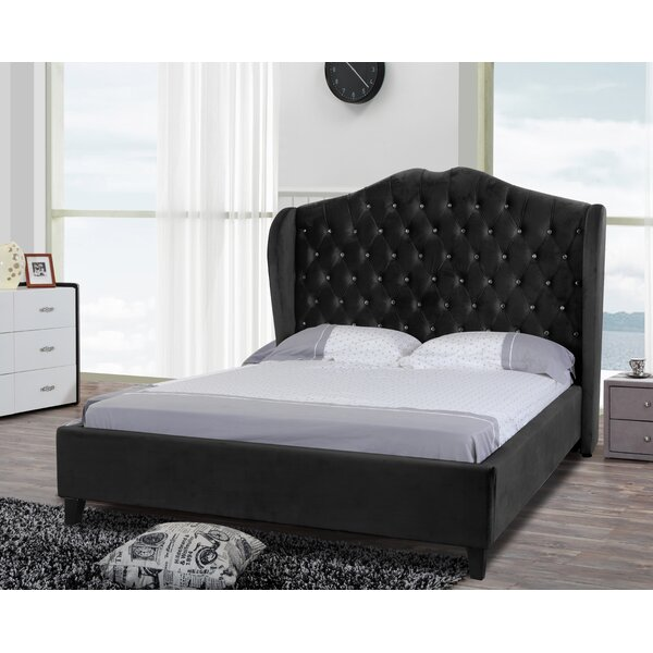 Padstow Upholstered Sleigh Bed by Rosdorf Park