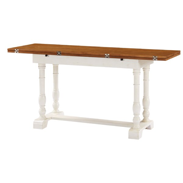 Kazuko Farmhouse Extendable Dining Table by August Grove