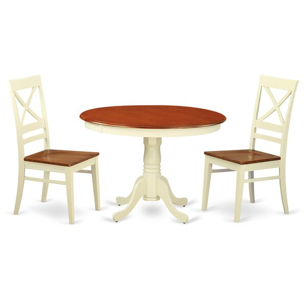 Design Artin 3 Piece Dining Set By Andover Mills Read Reviews