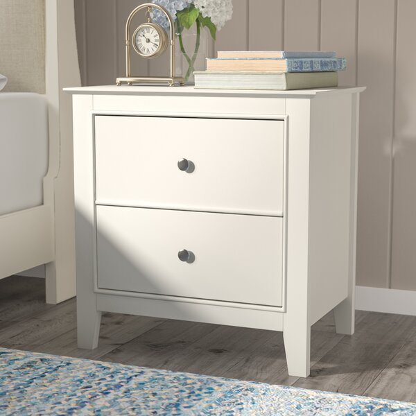 Vidor 2 Drawer Nightstand By Harriet Bee by Harriet Bee Bargain