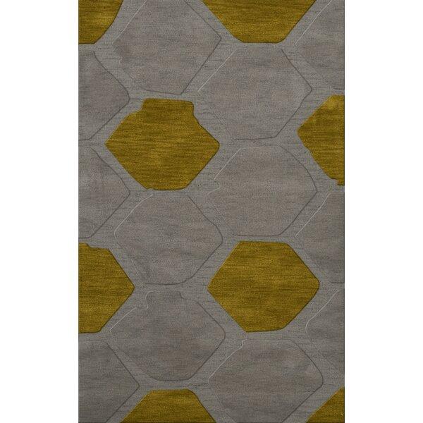 Harman Wool Flagstone Area Rug by Orren Ellis