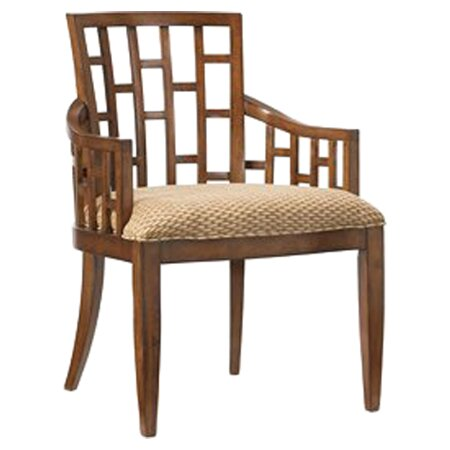 Ocean Club Upholstered Grid Back Dining Chair by Tommy Bahama Home Tommy Bahama Home