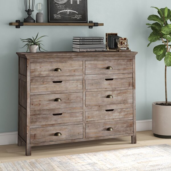 Lata 6 Drawer Double Dresser by Loon Peak