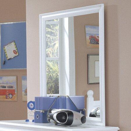 Rectangular Wood Frame Dresser Mirror by Harriet Bee