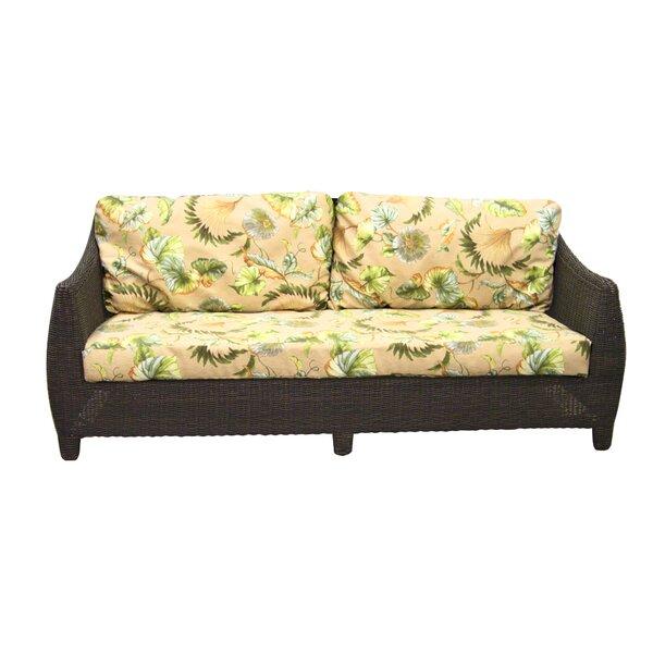 Outdoor Bay Harbor Sofa with Cushions by Padmas Plantation
