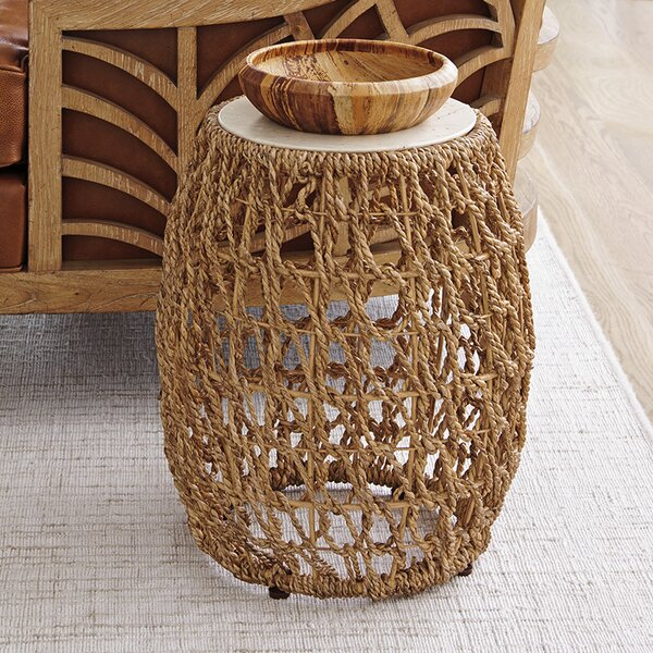 Los Altos Woven End Table by Tommy Bahama Home