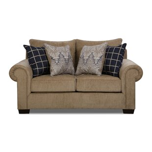 Della Loveseat by Simmons Upholstery
