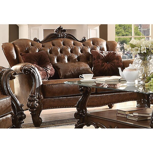 Medley Loveseat with 3 Pillows by Astoria Grand