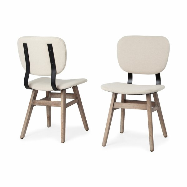 Bagwell Upholstered Dining Chair (Set of 2) by Foundry Select