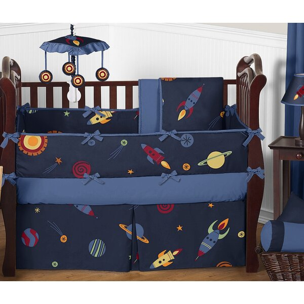 Space Galaxy 9 Piece Crib Bedding Set by Sweet Jojo Designs