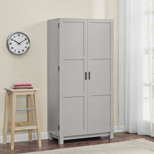 Callowhill 2 Door Storage Cabinet by Mercury Row