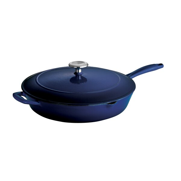 Gourmet Skillet with Lid by Tramontina
