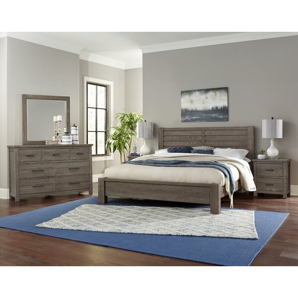 Erving Horizontal Plank Queen Panel Headboard by Darby Home Co
