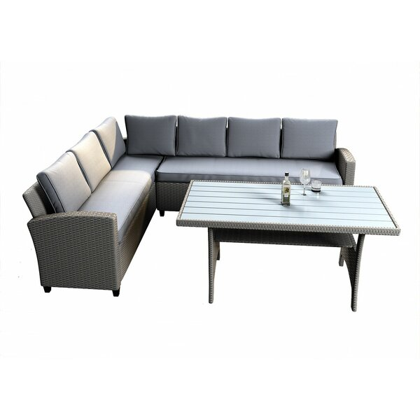 Borehamwood 12 Piece Rattan Sofa Seating Group With Cushions By Red Barrel Studio