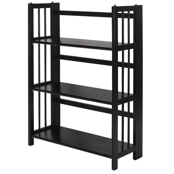 Renfrow Folding Stackable Standard Bookcase by Charlton Home