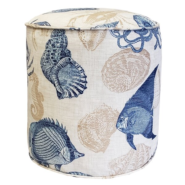 Macaire Indoor/Outdoor Pouf by Highland Dunes