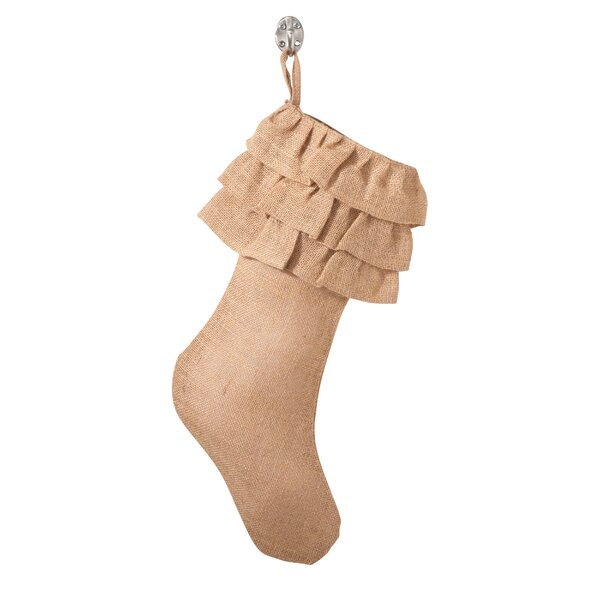 Ruffled Stocking by The Holiday Aisle