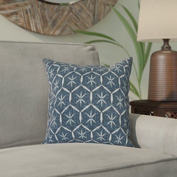 Lassiter Tufted Geometric Throw Pillow by Bungalow Rose