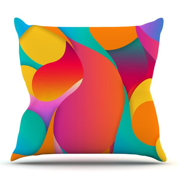 Still Life by Danny Ivan Outdoor Throw Pillow by East Urban Home