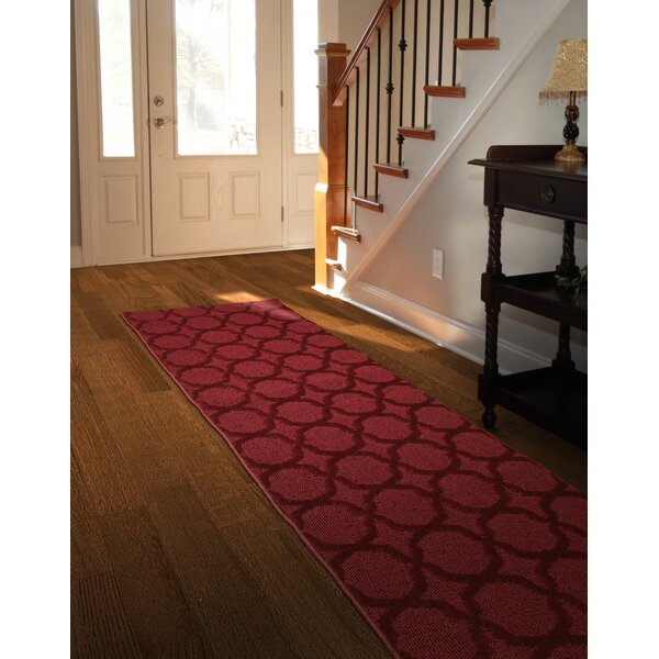 Gurdon Chili Red Area Rug by Charlton Home