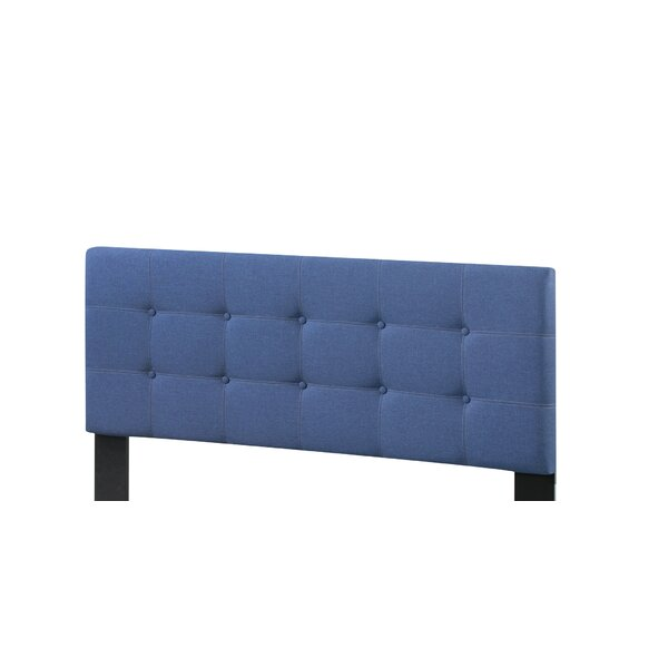 Linsey Upholstered Panel Headboard by Charlton Home