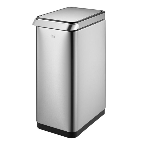 Stainless Steel 13 Gallon Touch Top Trash Can by EKO