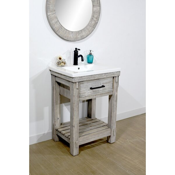 @ Kane 24 Single Bathroom Vanity Set by Millwood Pines| #$0.00!