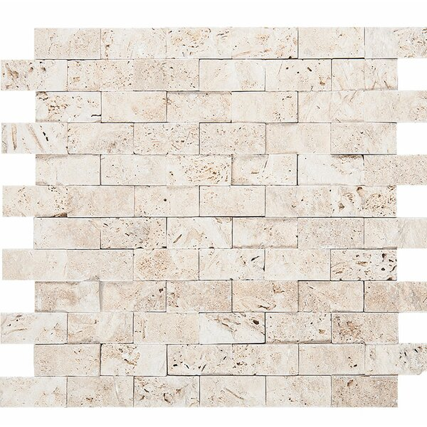 0.5 x 12 Stone Splitface Tile in Ivory by Parvatile