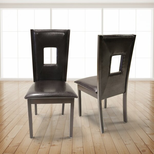 Seniti Upholstered Dining Chair (Set of 2) by Ebern Designs