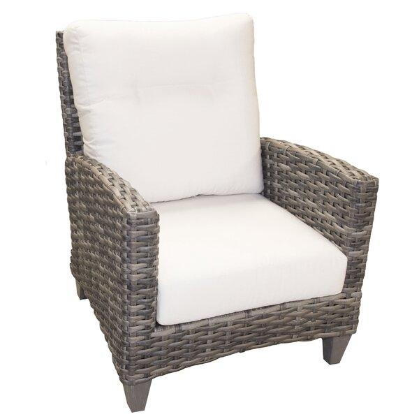 Lexington Patio Chair with Sunbrella Cushions by Highland Dunes